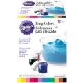 Wilton食用12色色膏套裝(601-5580)