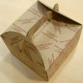 8吋印花手挽蛋糕盒1個/10個裝