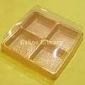 四頭迷你月餅膠盒(10個)